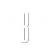 Design Letters - Acryl Buchstabe Wanddekoration B | Weiß