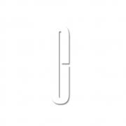 Design Letters - Acryl Buchstabe Wanddekoration C | Weiß
