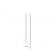 Design Letters - Acryl Buchstabe Wanddekoration Q | Weiß