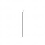 Design Letters - Acrylic Letter T | White