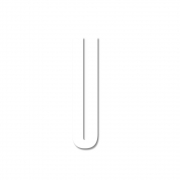 Design Letters - Acrylic Letter U | White