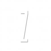 Design Letters - Acryl Buchstabe Wanddekoration Z | Weiß