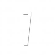 Design Letters - Acryl Zahl Wanddekoration 7   Weiß