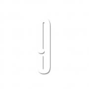 Design Letters - Acryl Zahl Wanddekoration 9 | Weiß