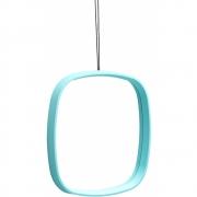 Design Letters - Television miroir Turquoise