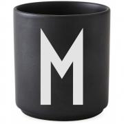 Design Letters - AJ Porzellan Becher schwarz M