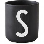Design Letters - AJ Porzellan Becher schwarz S