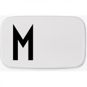 Design Letters - Personal Lunch Box Brotdose A-Z M
