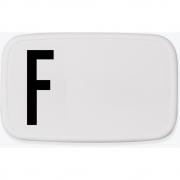 Design Letters - Personal Lunch Box Brotdose A-Z F
