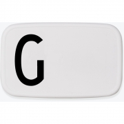 Design Letters - Personal Lunch Box Brotdose A-Z G