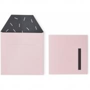 Design Letters - Geburtstagskarte 1-6 Rosa | 1