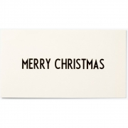 Design Letters - AJ Grußkarte MERRY CHRISTMAS