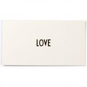 Design Letters - AJ Grußkarte LOVE