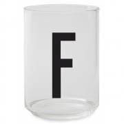 Design Letters - AJ Drinking Glass F