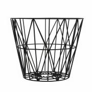 Ferm Living - Wire Basket Medium   Black