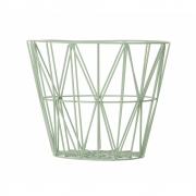 Ferm Living - Wire Basket Small   Mint