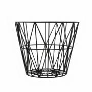 Ferm Living - Wire Korb Klein | Schwarz