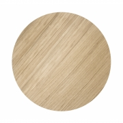 Ferm Living - Top for Wire Basket Small   Oiled Oak