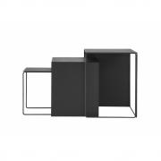 Ferm Living - Cluster Tables (Set of 3) Black