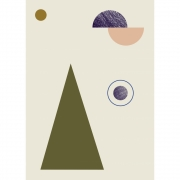 Ferm Living - Geometry Poster