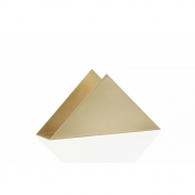 Ferm Living - Brass Triangle Serviettenhalter