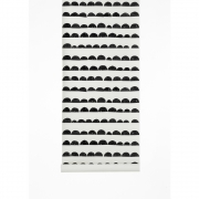 Ferm Living - Half Moon Wallpaper Black