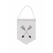 Ferm Living - Arrow Wandfahne