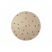 Ferm Living - Jute Teppich 100 cm | Black Dots