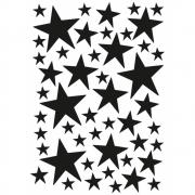 Ferm Living - Mini Stars Wallsticker Black