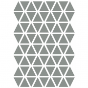 Ferm Living - Mini Triangles Wallsticker Grey