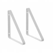 Ferm Living - Shelf Regalaufhänger (2 Stk.) Weiß