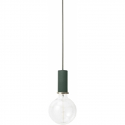 Ferm Living - Collect Pendant Lamp Low | Dark Green