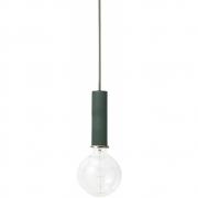 Ferm Living - Collect Pendant Lamp High | Dark Green