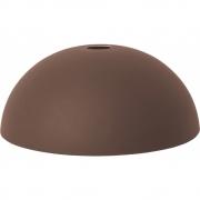 Ferm Living - Dome Lampenschirm für Collect Pendelleuchte Rot-Braun