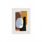 Ferm Living - Abstraction Poster 1