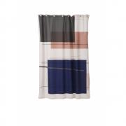 Ferm Living - Colour Block Duschvorhang