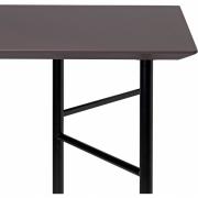 Ferm Living - Mingle Tischplatte rechteckig Taupe 210x90 cm (Linoleum)