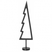 Ferm Living - Winterland Messingbaum Umriss Schwarz