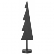 Ferm Living - Winterland Messingbaum Schwarz