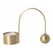 Ferm Living - Balance Tealight Holder Brass
