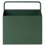Ferm Living - Wall Box Square | Dark Green