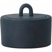 Ferm Living - Buckle Jar Dark Blue