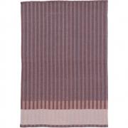 Ferm Living - Grain Tea Towel Bordeaux
