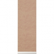 Ferm Living - Coral Wallpaper Dusty Rose/Beige