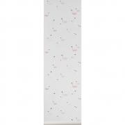Ferm Living - Swan Wallpaper Rose