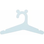 Ferm Living - Kids Hanger (Set of 5) Light Blue