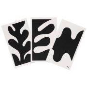 Ferm Living - Leaf Spültuch (3er Set)