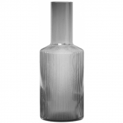 Ferm Living - Ripple Karaffe Smoked Grey