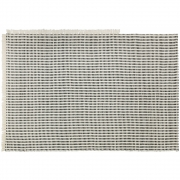 Ferm Living - Way Outdoor Rug - Off-White/Blue