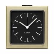 LEFF Amsterdam - Block Alarm Clock Brass
